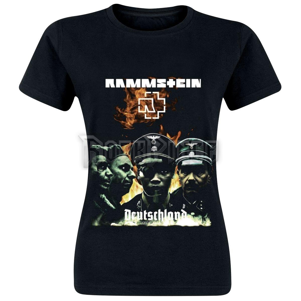 Rammstein - Deutschland - SS - NŐI PÓLÓ