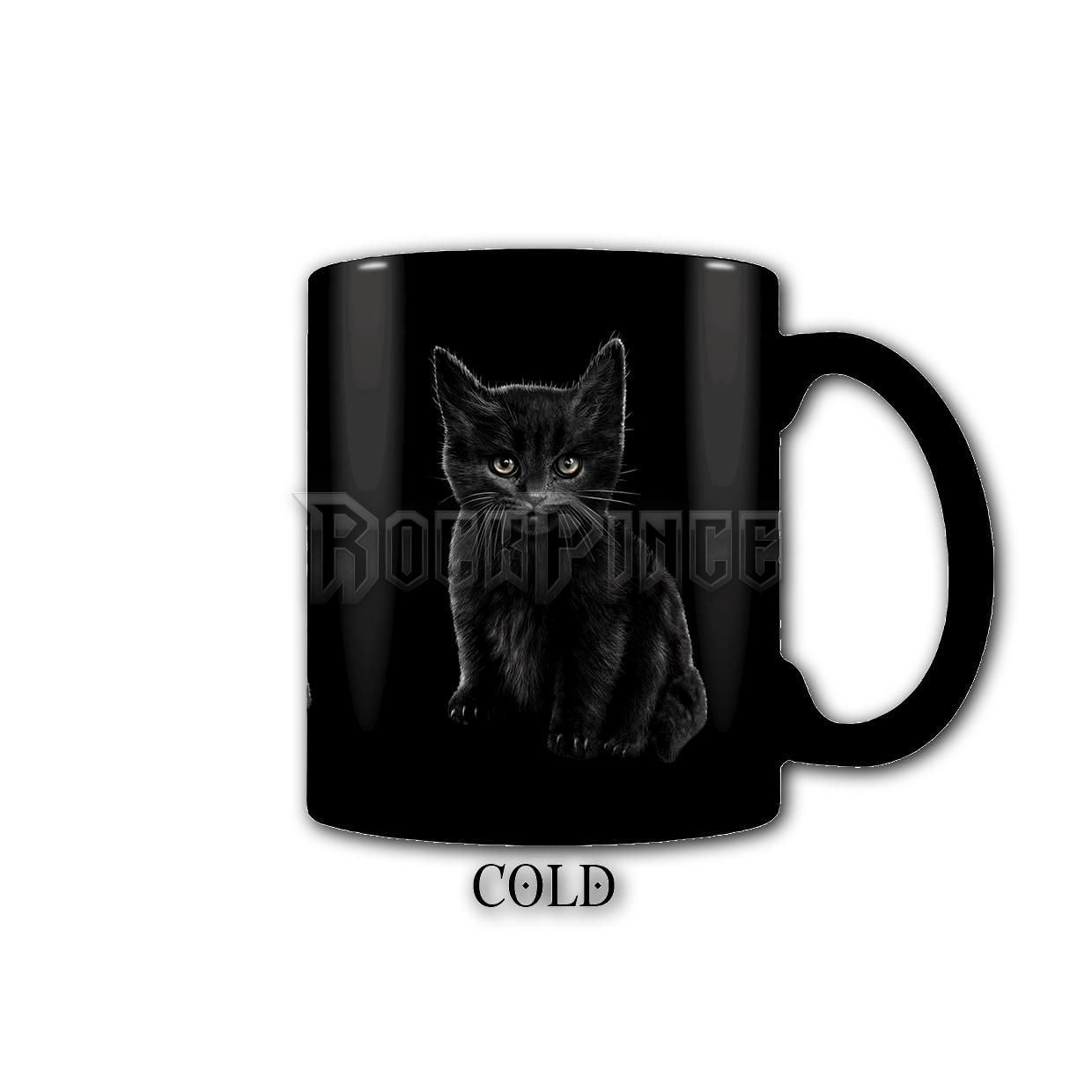 BAT CAT - Heat Change Ceramic Coffee Mug - Gift Boxed - F015A007