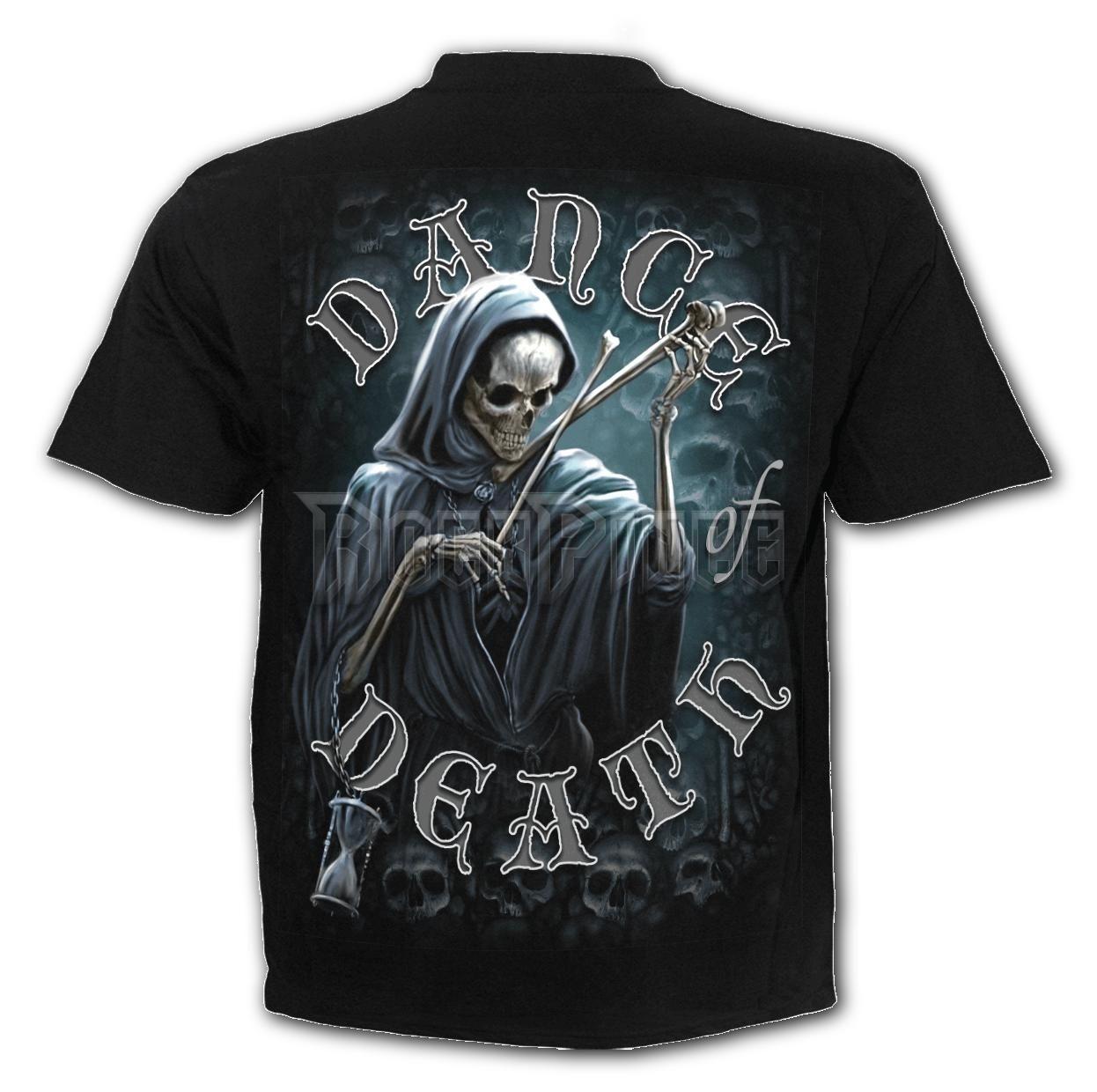 DANCE OF DEATH - T-Shirt Black - K068M101