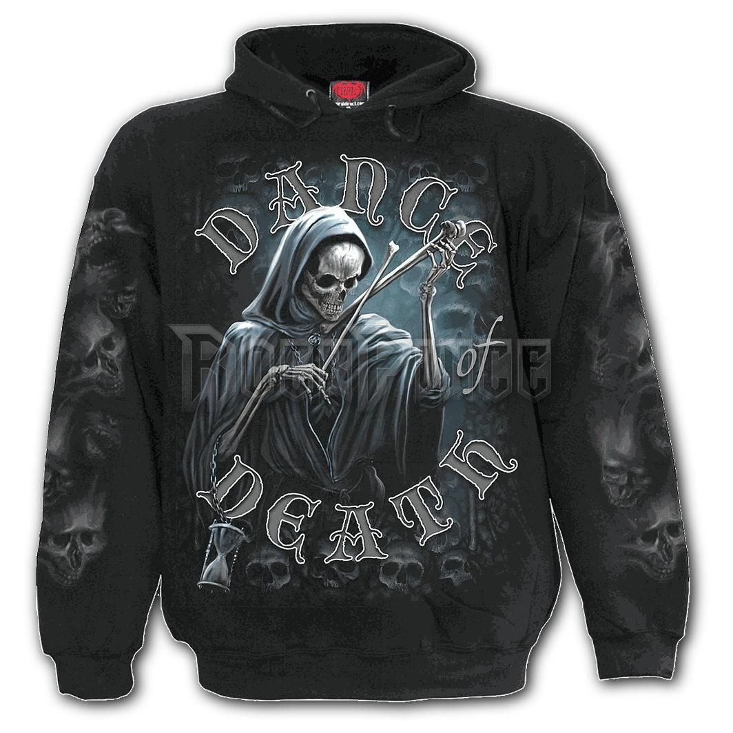 DANCE OF DEATH - Hoody Black (Plain) - K068M451