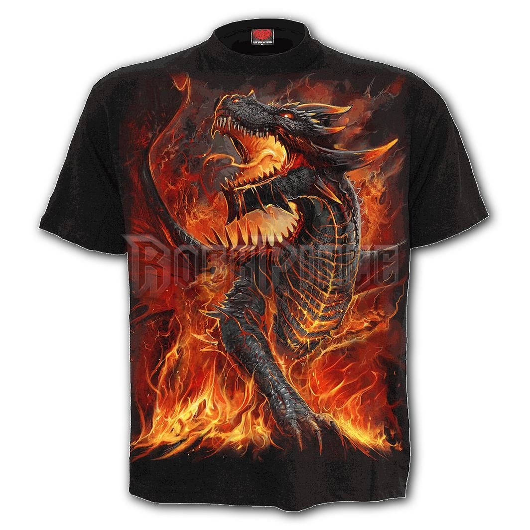 DRACONIS - T-Shirt Black - L046M101
