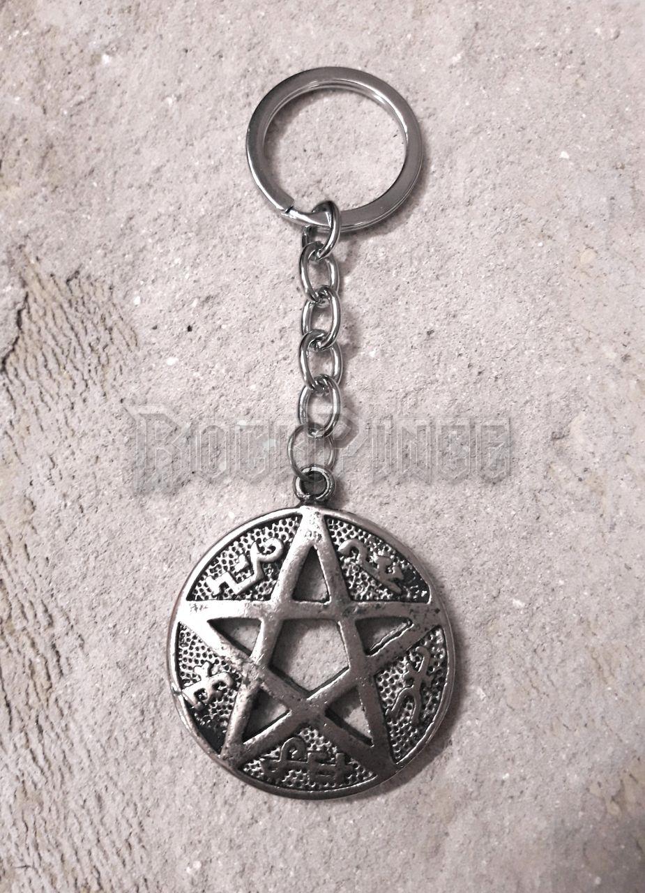 Devil's Trap Symbol - kulcstartó
