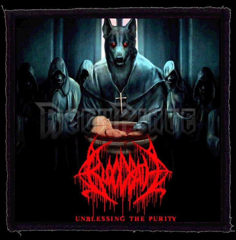 BLOODBATH - Unblessing The Purity (95x95) - kisfelvarró HKF-0774