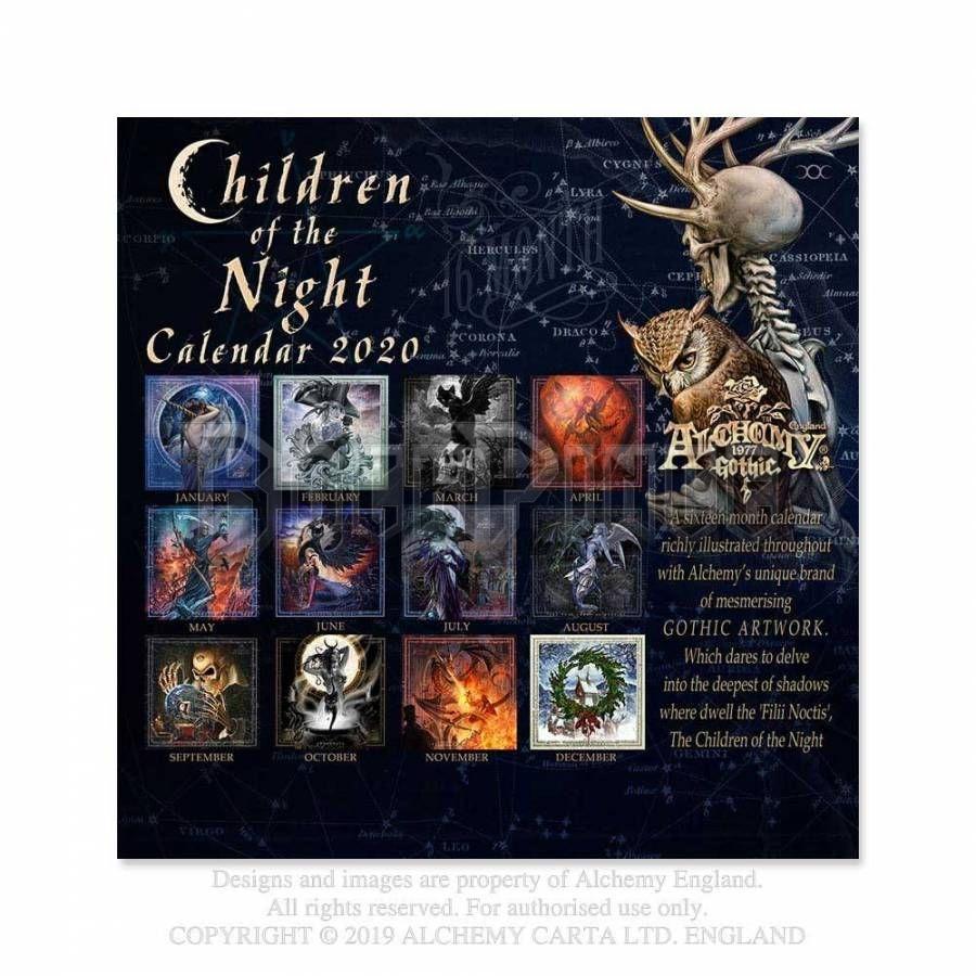 Alchemy - Gothic 'Children of the Night' 2020 - falinaptár CAL20