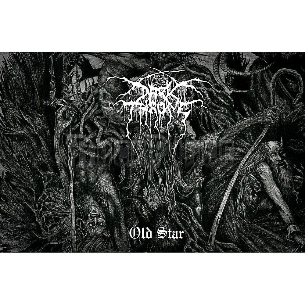 Darkthrone Textile Poster: Old Star - TP213