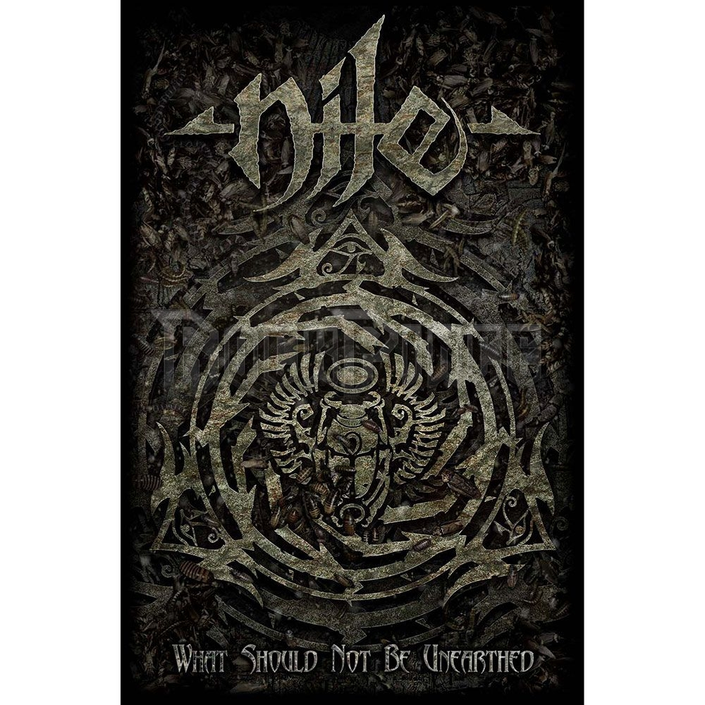 Nile Textile Poster: What Should Not Be Unearthed - TP115