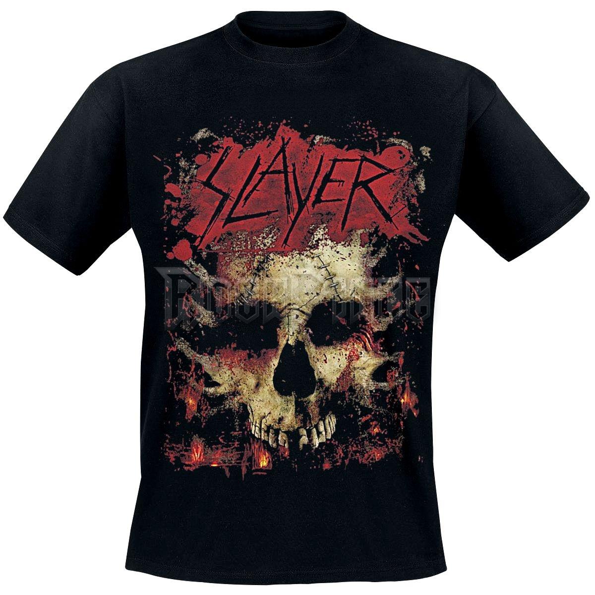 SLAYER - Ribs Skull