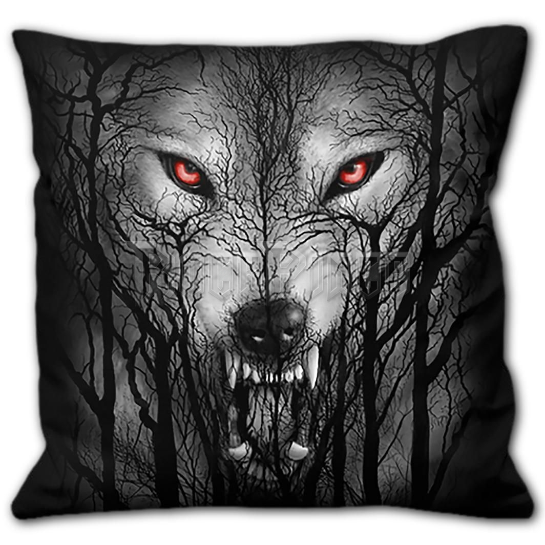 FOREST WOLF - Square Cushion - E030A513