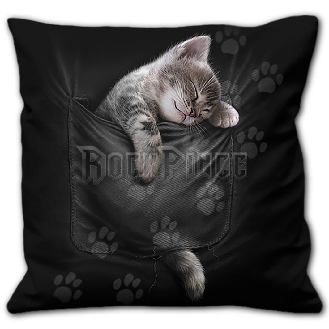 POCKET KITTEN - Square Cushion - F052A513