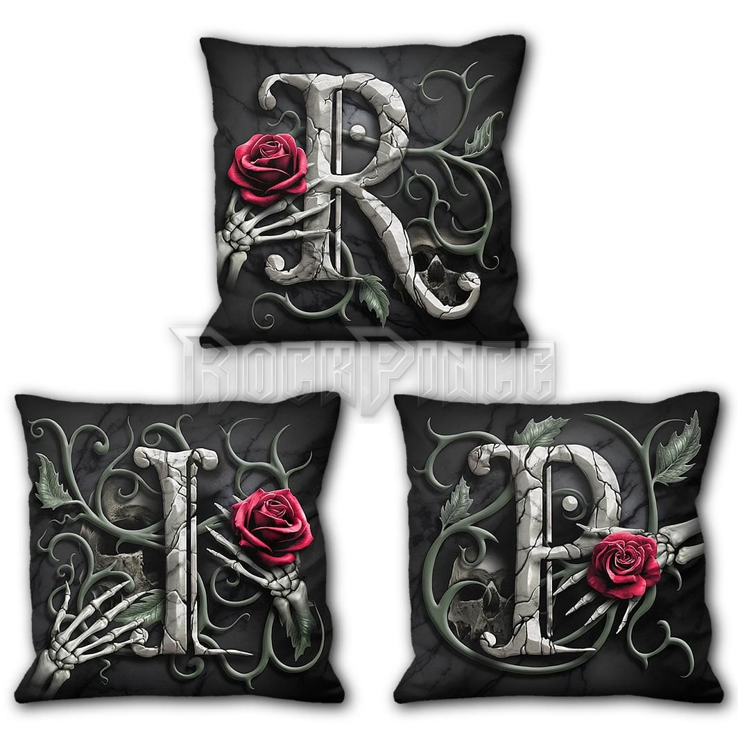 R.I.P. - Square Cushion (Set of 3) - K069A514
