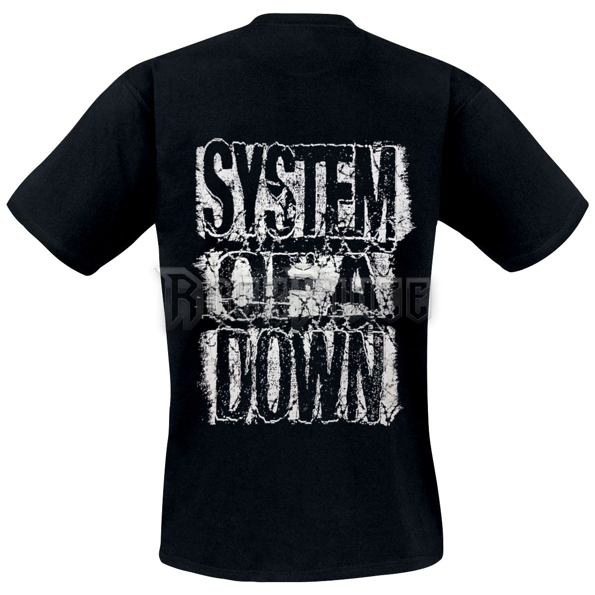 SYSTEM OF A DOWN - DISTRESSED LOGO - UNISEX PÓLÓ