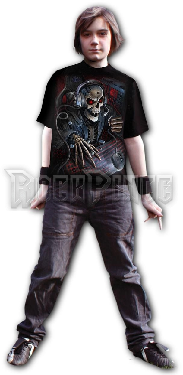 PC GAMER - Kids T-Shirt Black (Plain) - T188K101