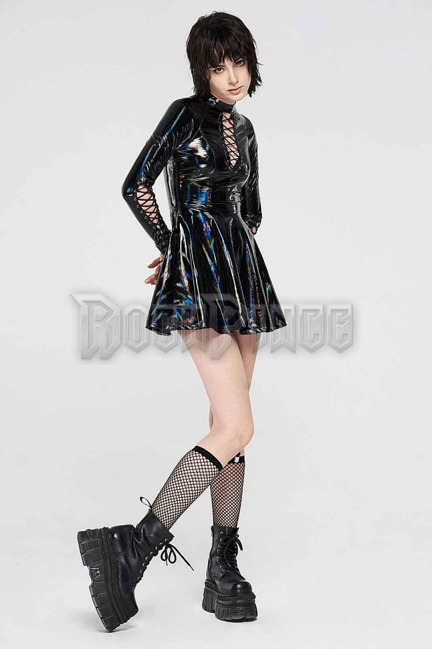 BLACK NEON LOLLIPOP - miniruha WQ-481/BK-BRI