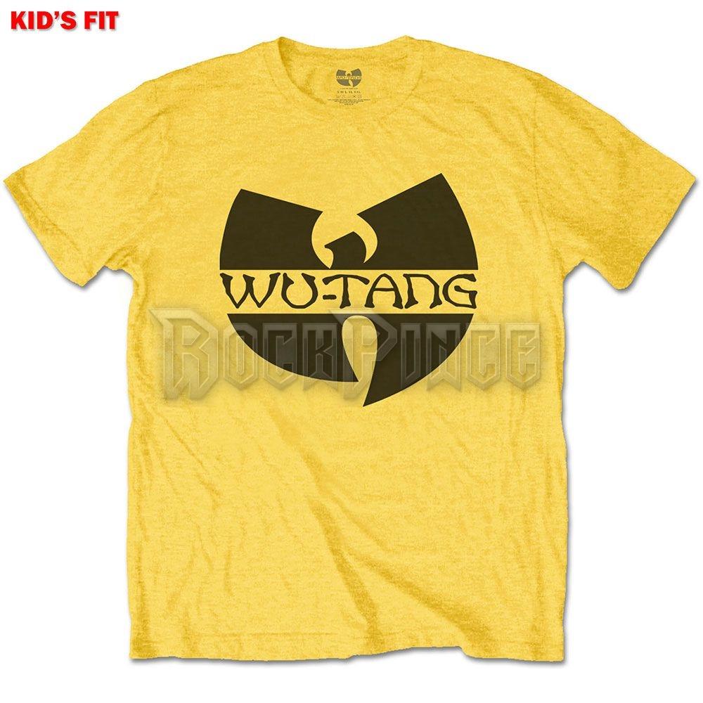 Wu-Tang Clan - Logo gyerek póló - rövid ujjú - WTCTS04BY
